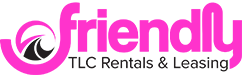 Friendly TLC Rentals and Leasing Logo