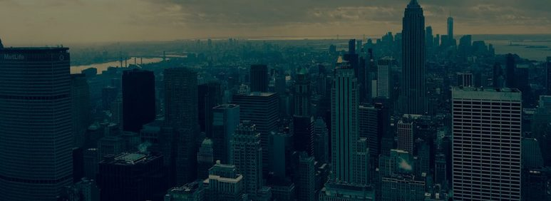 New York City captured from the air Panorama